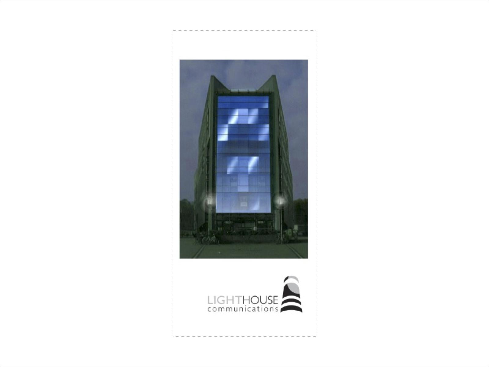 Lighthouse Communication Broschüre